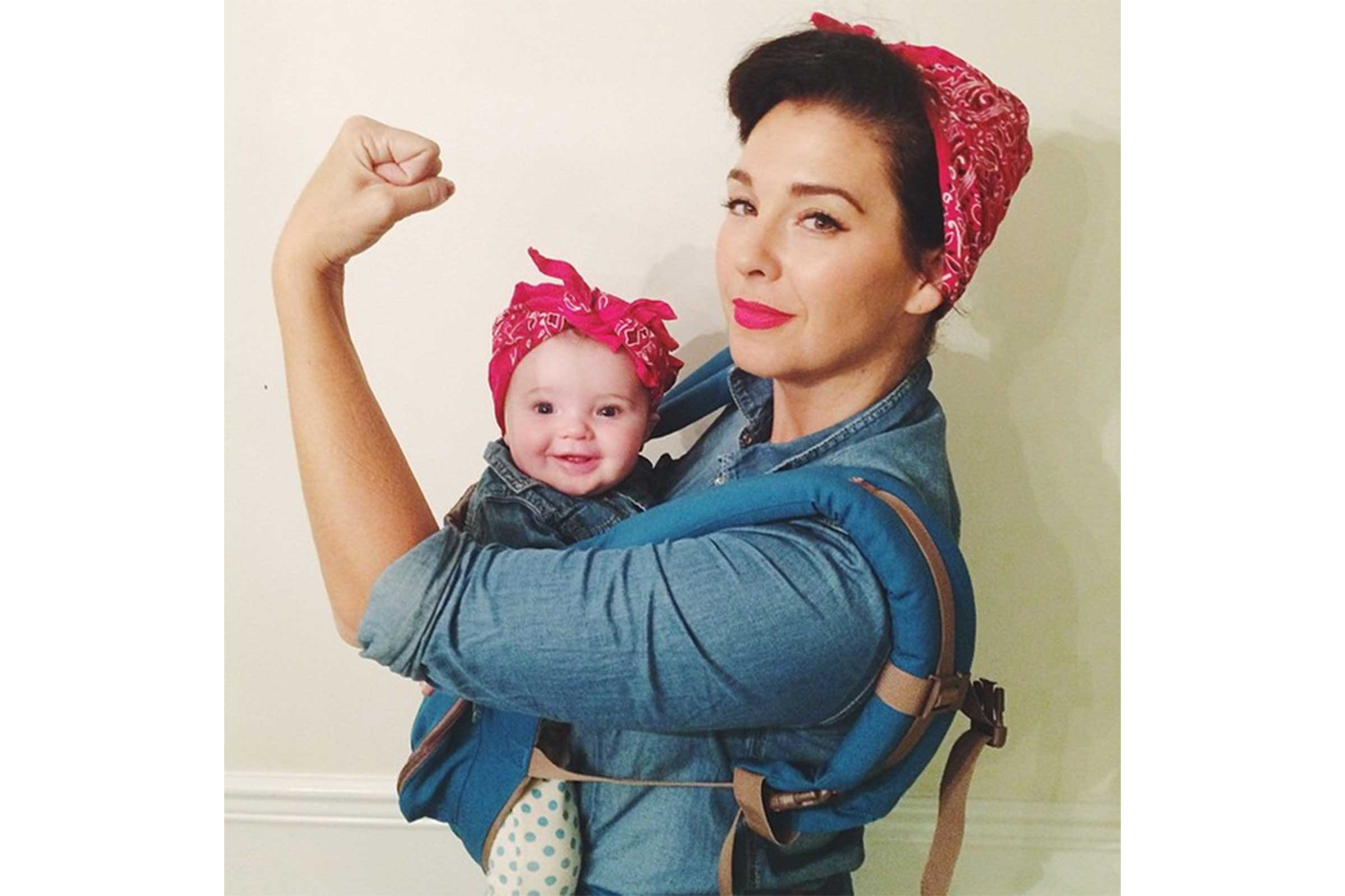 Rosie the Riveter  sc 1 st  Readeru0027s Digest & Mom and Baby Halloween Costumes | Readeru0027s Digest