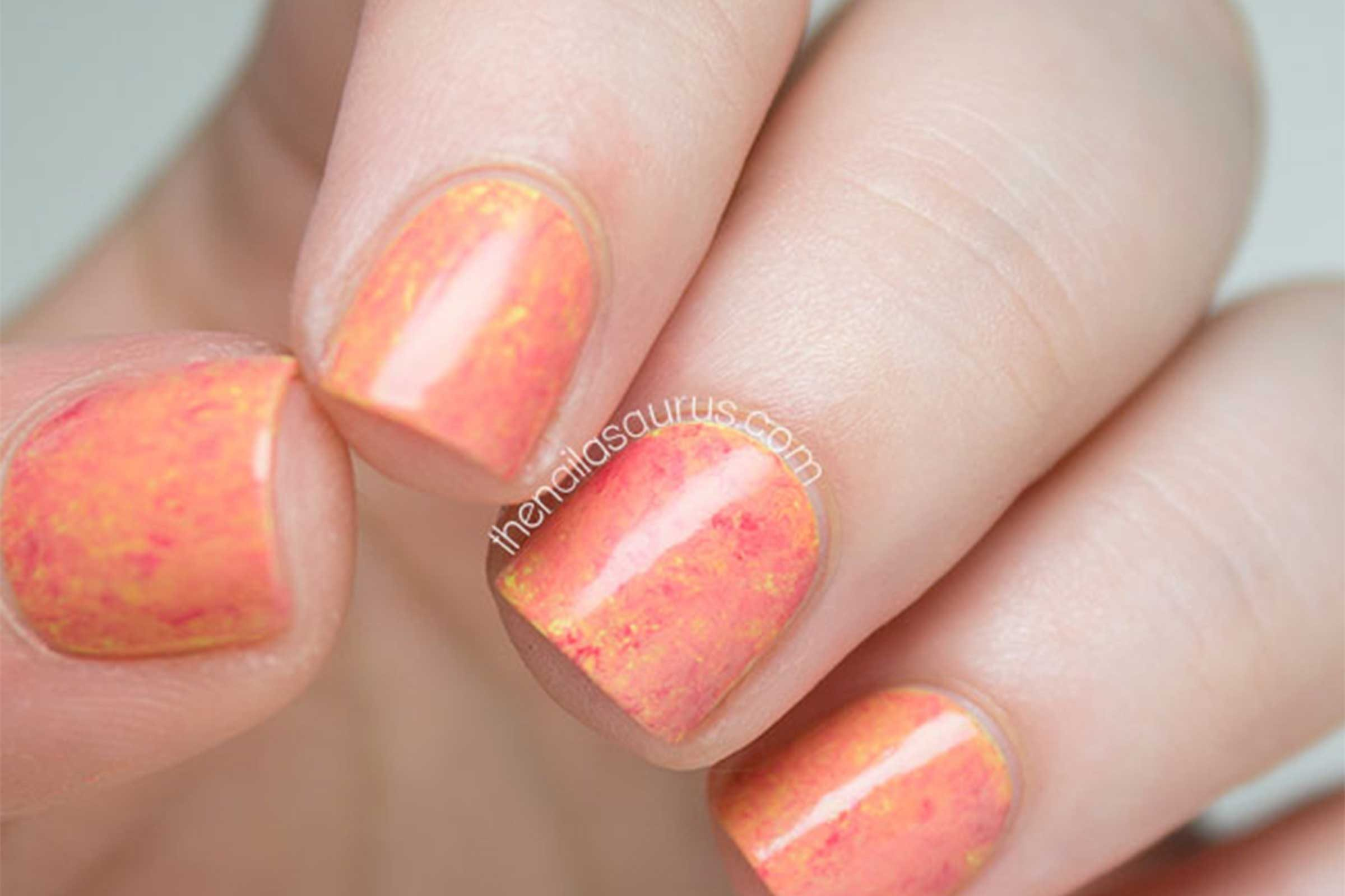 Nail art designs easy hacks for diy manicures readers digest courtesy the nailasaurus prinsesfo Image collections