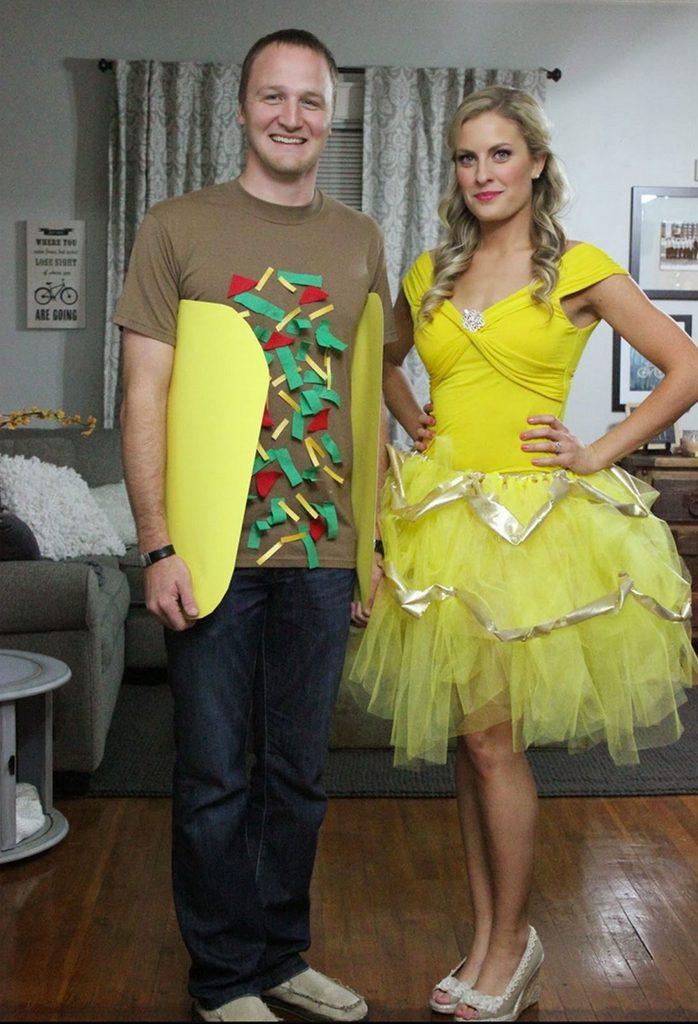 Taco Bell couples halloween costume