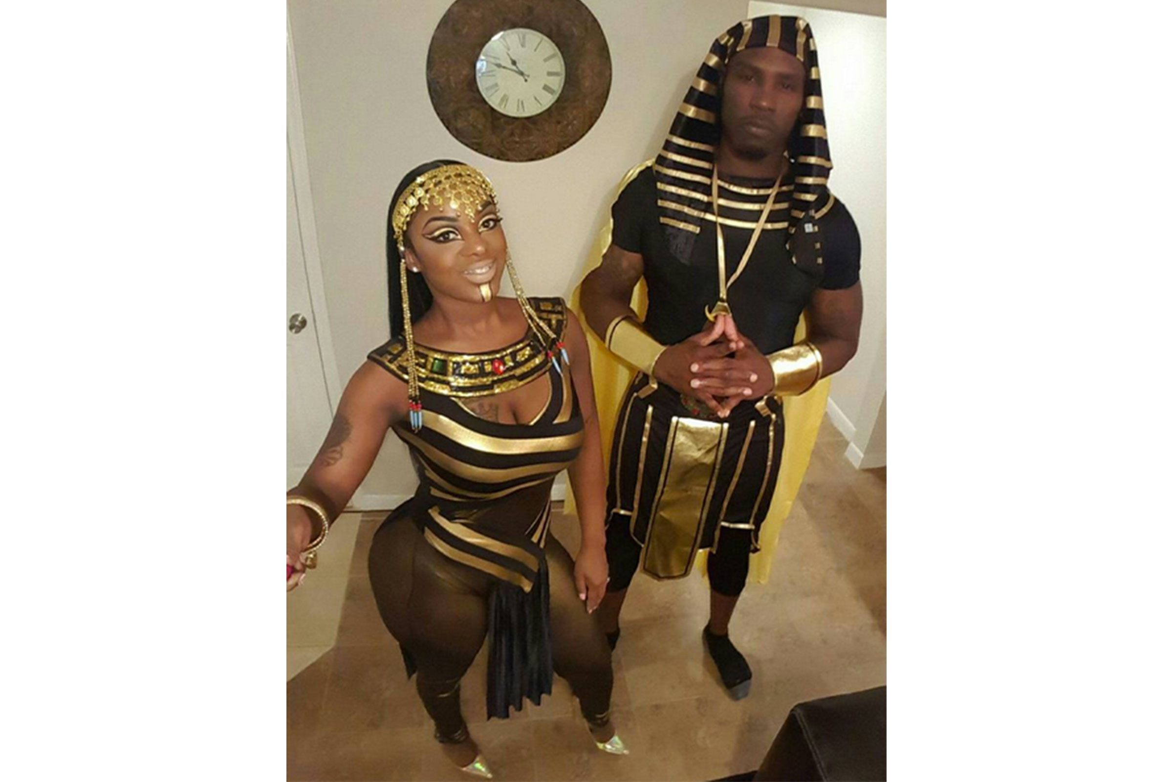 egyptian queen and her king