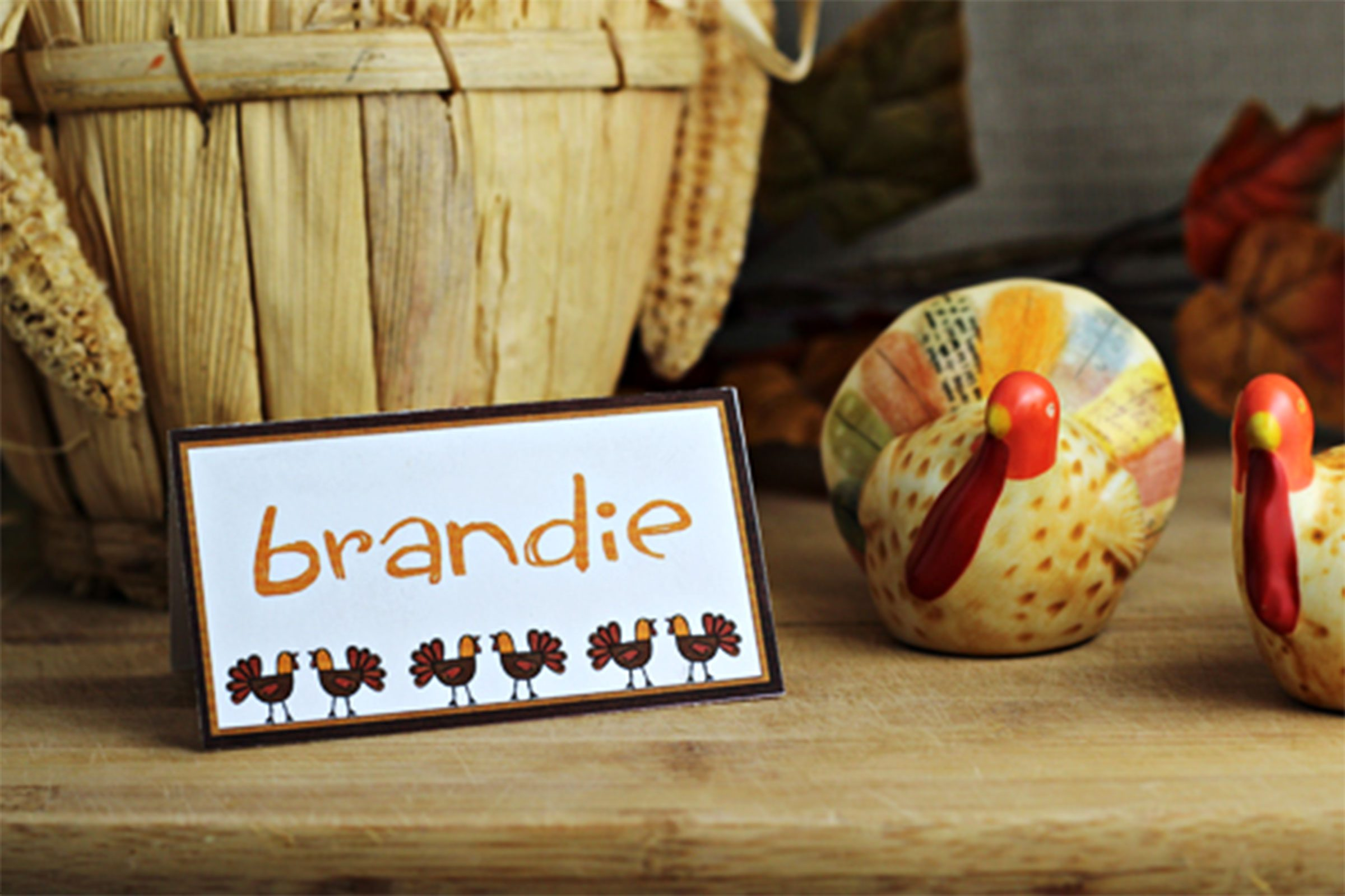 Thanksgiving Place Cards To Diy This Holiday Reader 39 S Digest