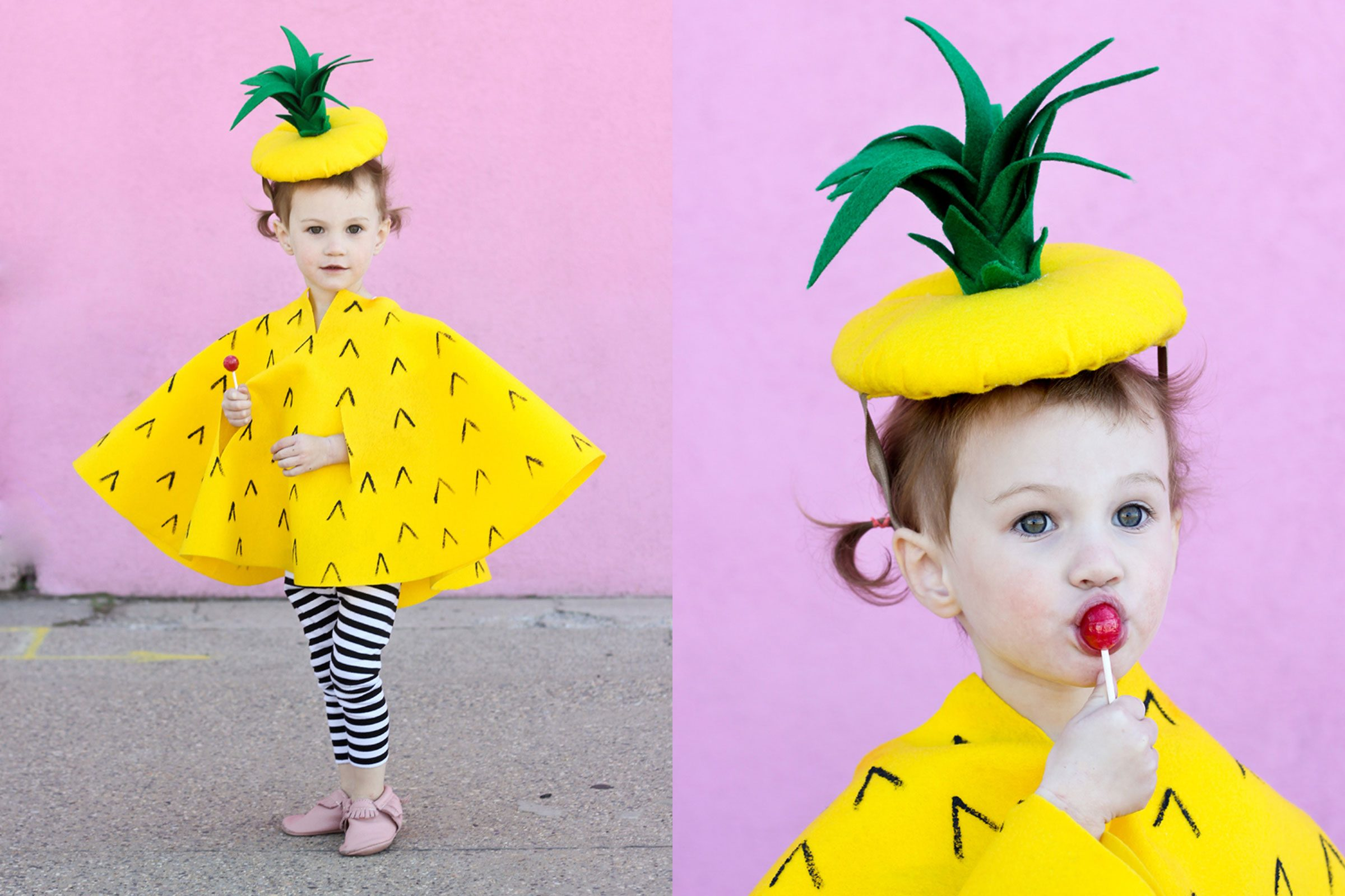 Pineapple  sc 1 st  Readeru0027s Digest & Cheap DIY Halloween Costumes for Kids | Readeru0027s Digest