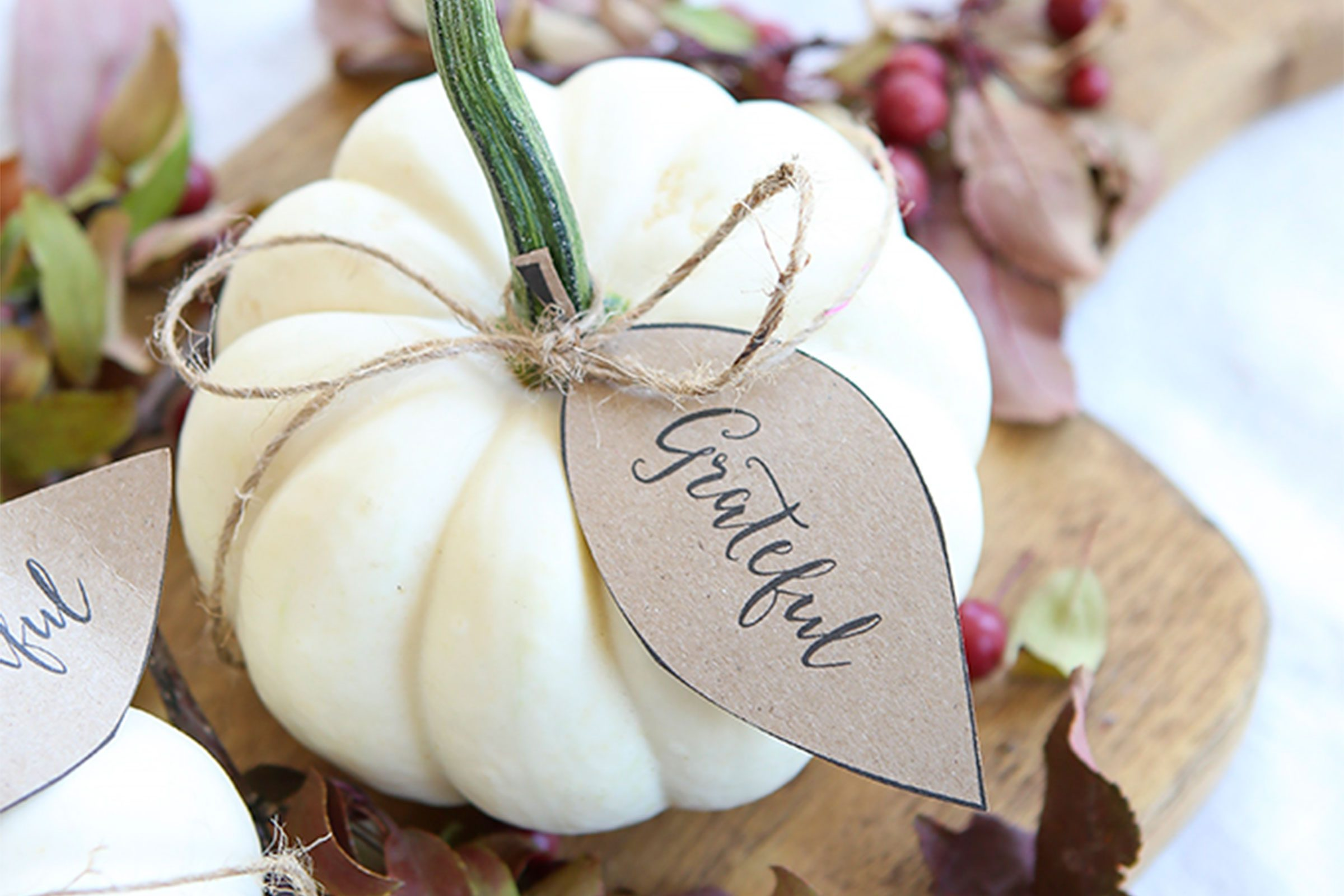 Thanksgiving Place Cards to DIY This Holiday | Reader\'s Digest