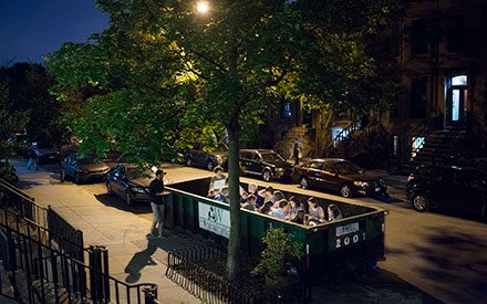 This Restaurant Seats Customers in a Dumpster to Raise Awareness About Food Waste