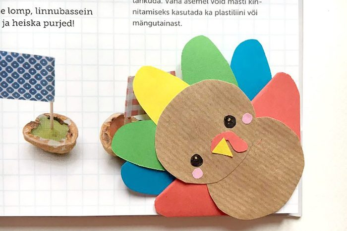 turkey book mark