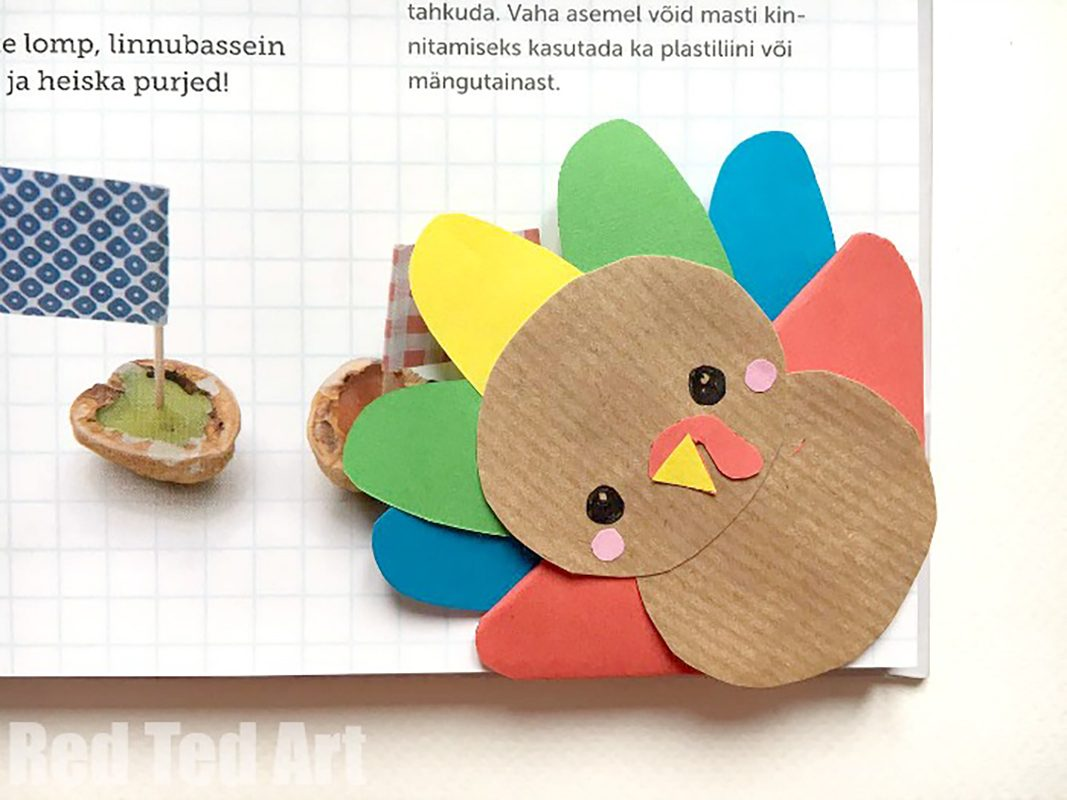turkey book mark
