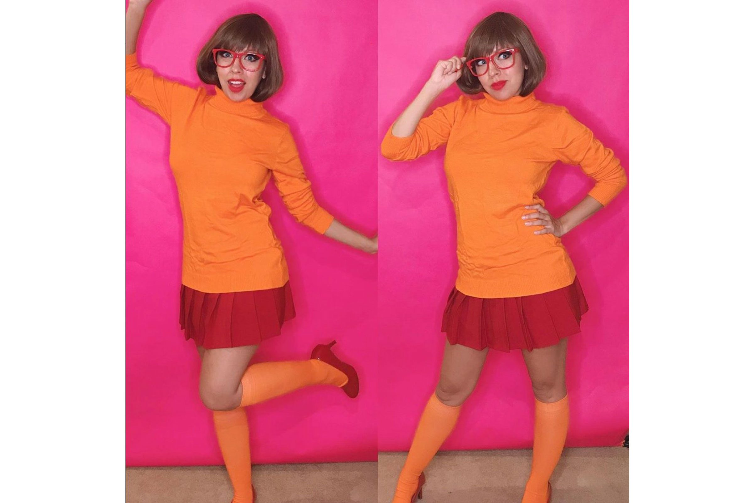velma diy halloween costume