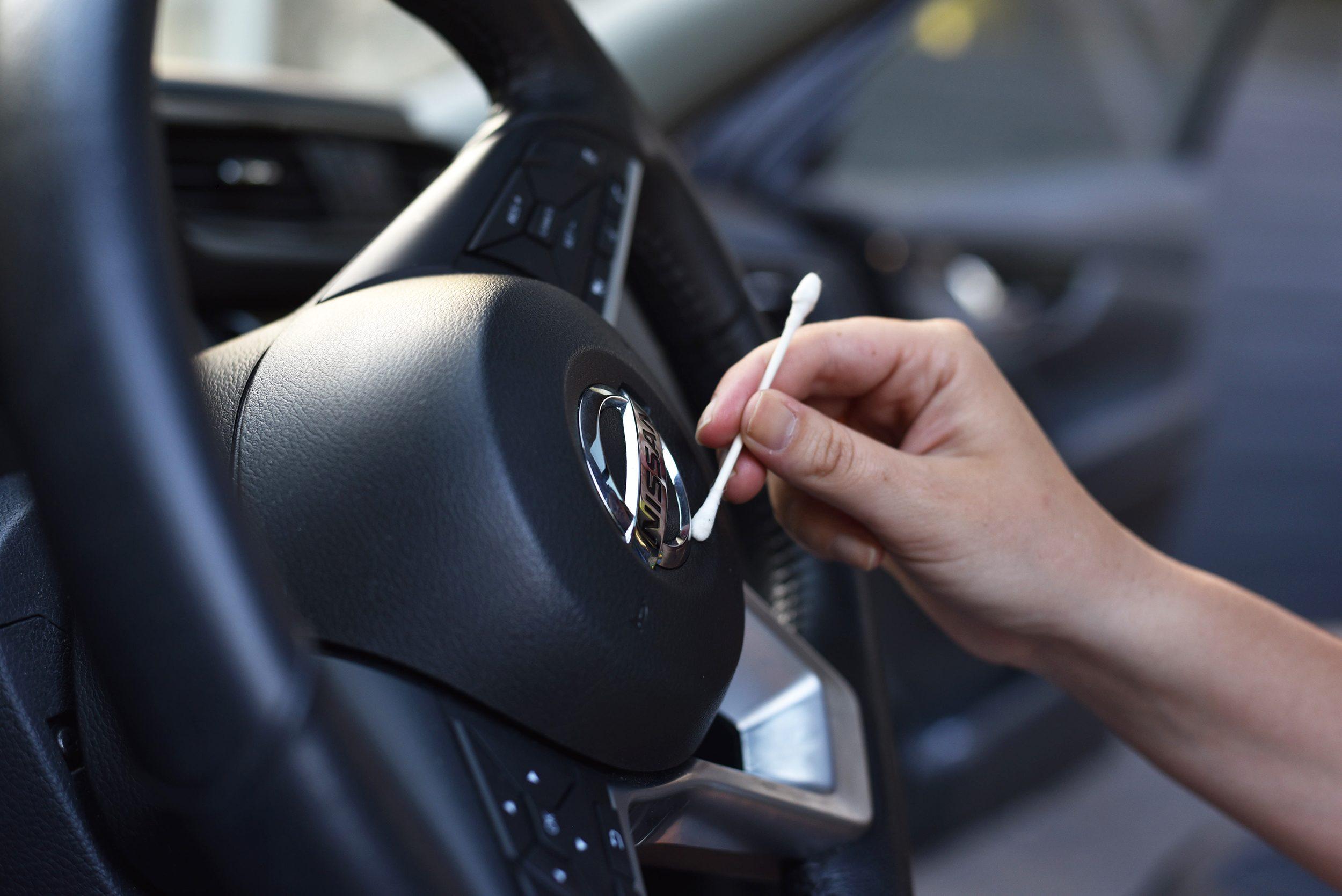 car detail q tip uses