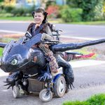 This Dad Makes Halloween Costumes For Kids in Wheelchairs–and You NEED to See Them
