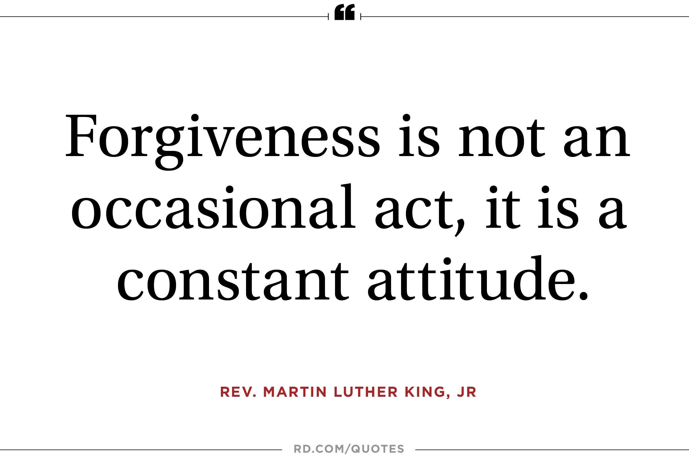 Quotes On Forgiveness 19 Forgivness Quotes  Reader's Digest