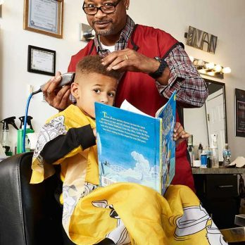 This Barber Cuts Kids' Hair for Free, But There's a Catch