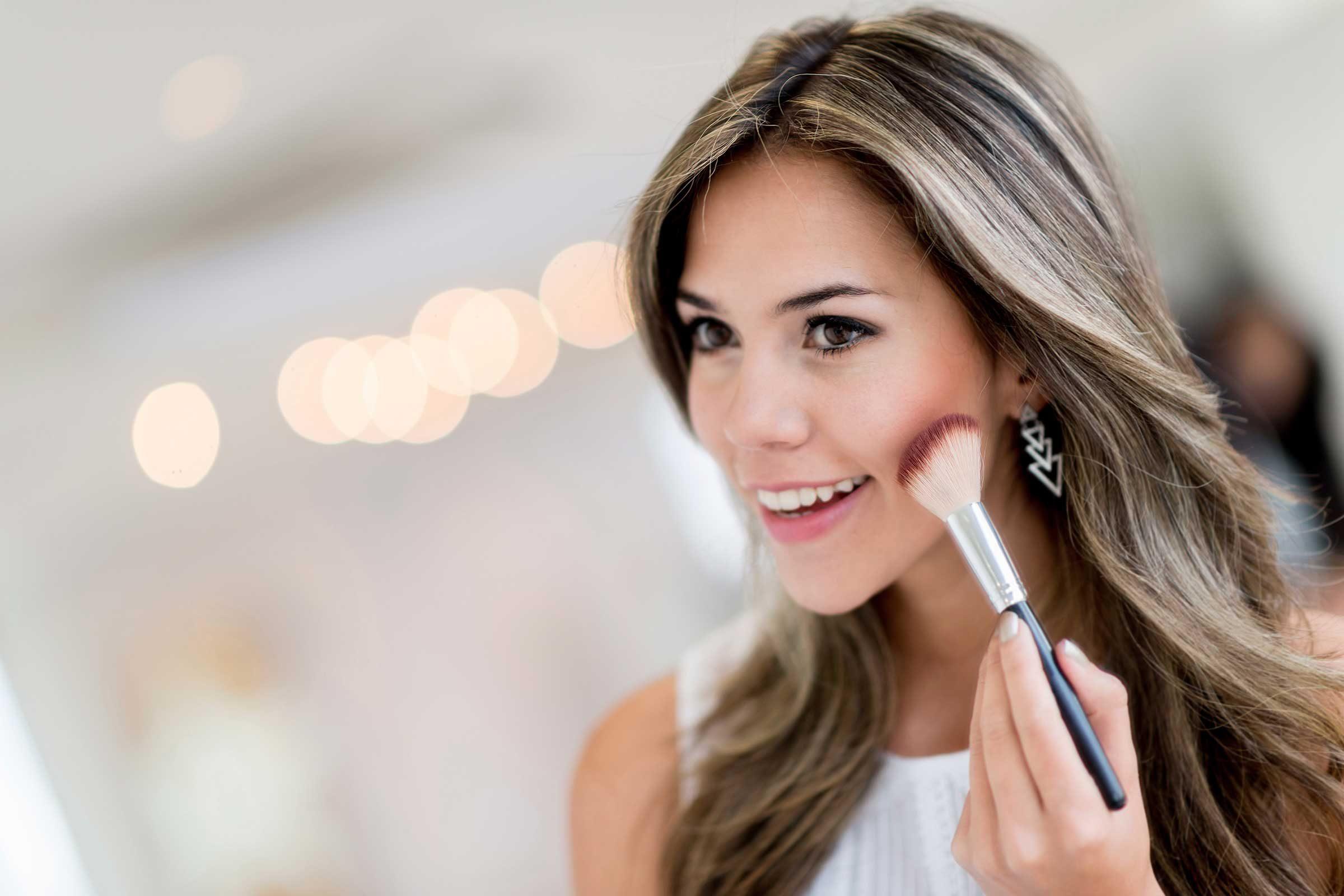 rubor de maquillaje