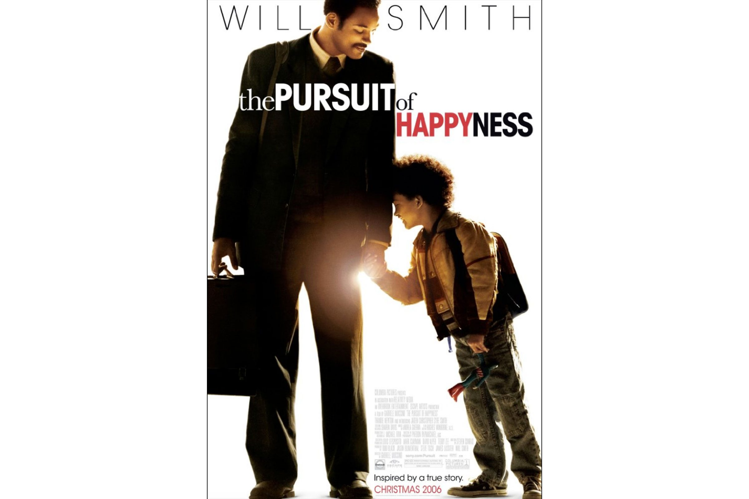 a pursuit of happiness a movie Movie review the pursuit of happyness by belinda elliott cbncom daily life producer.