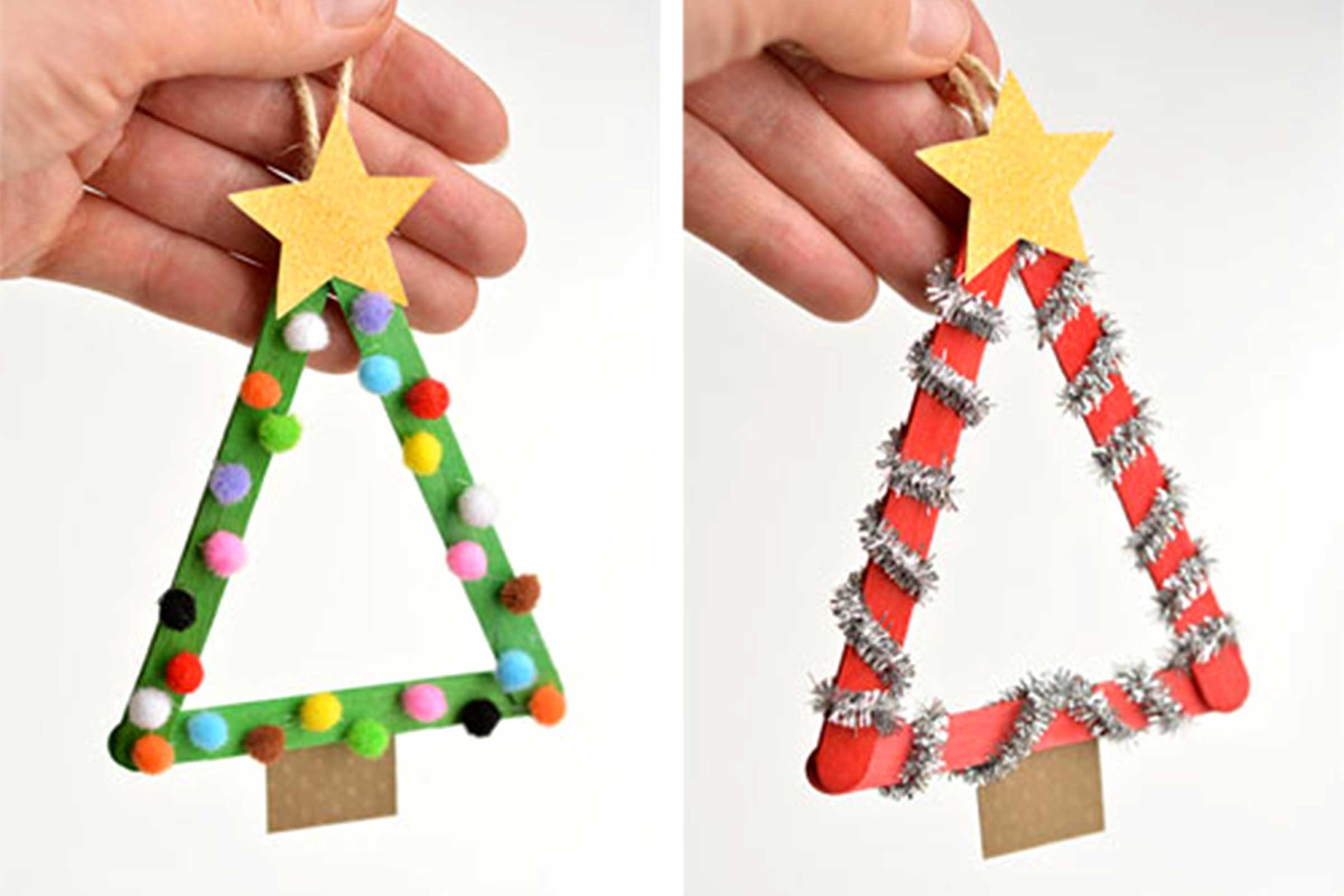 Easy Christmas Ornament Crafts For Kids Reader S Digest