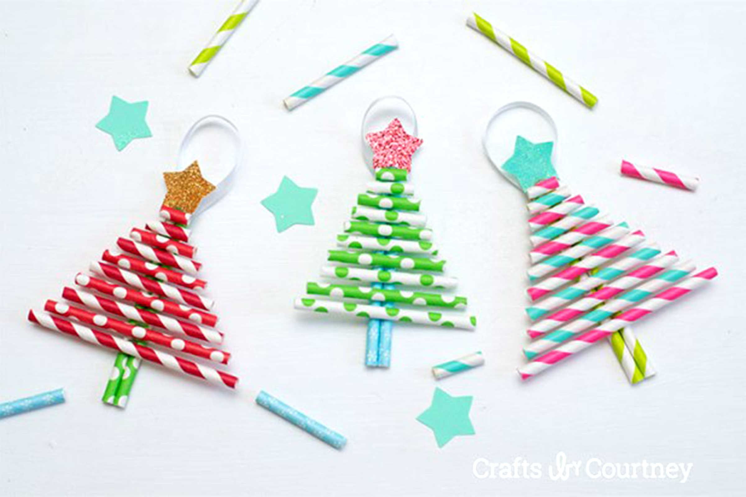courtesy crafts by courtney - Christmas Decoration Crafts