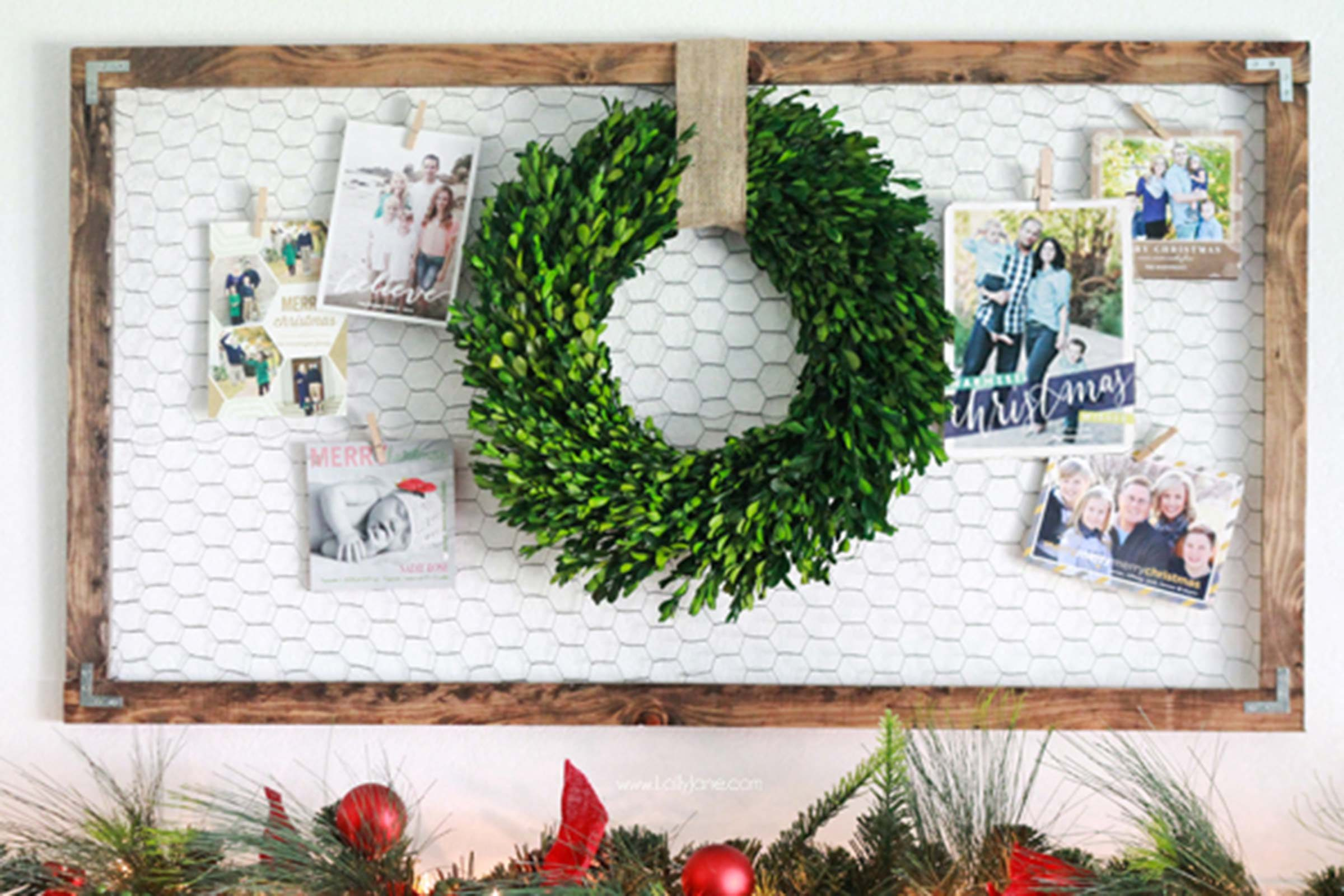 What To Do With Christmas Cards Creative Displays Reader S Digest