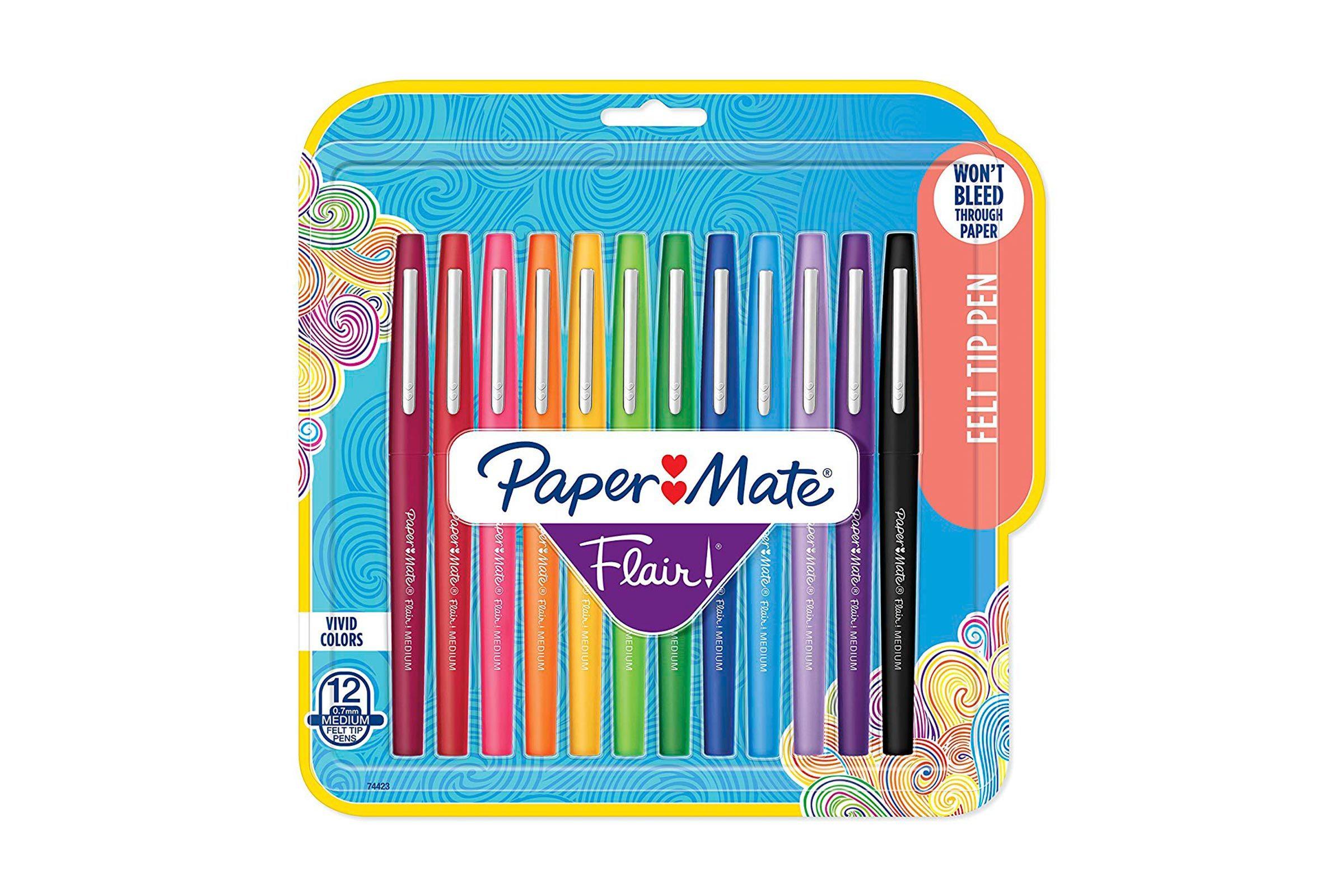 Papermate felt tip pens