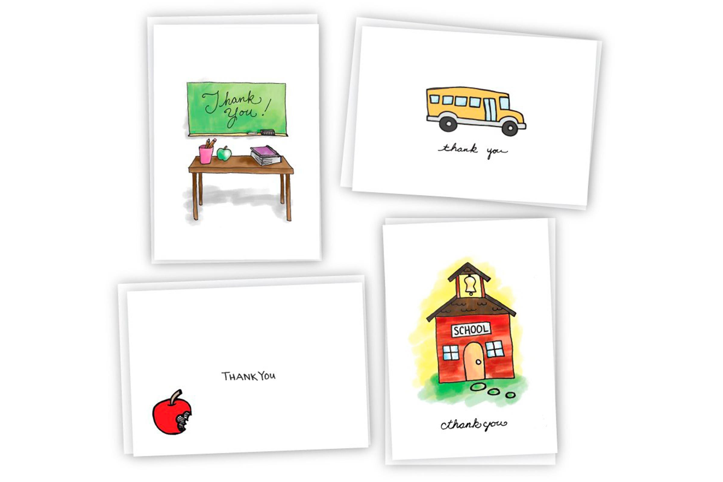 School thank you cards