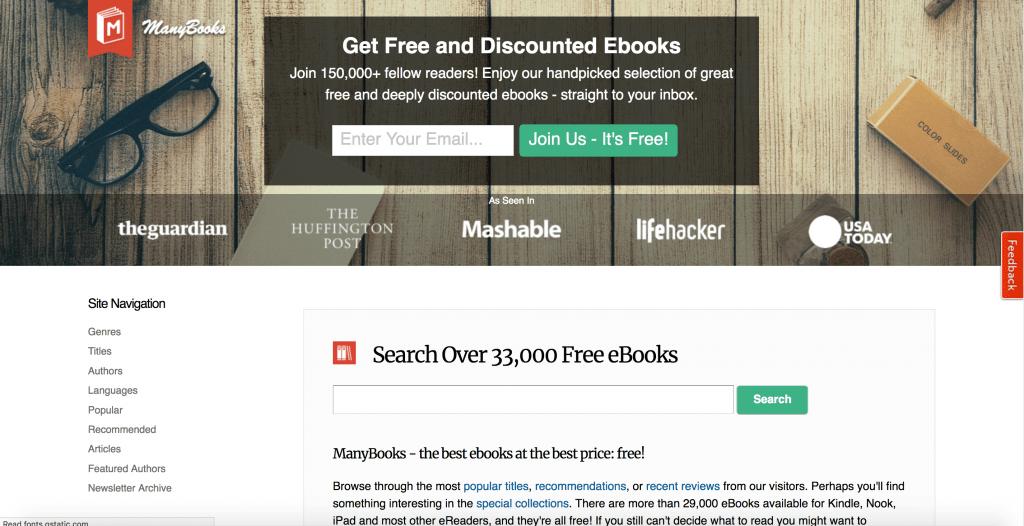 manybooks_free book sites