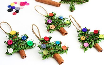 20 Easy Christmas Ornament Crafts for Kids to Make