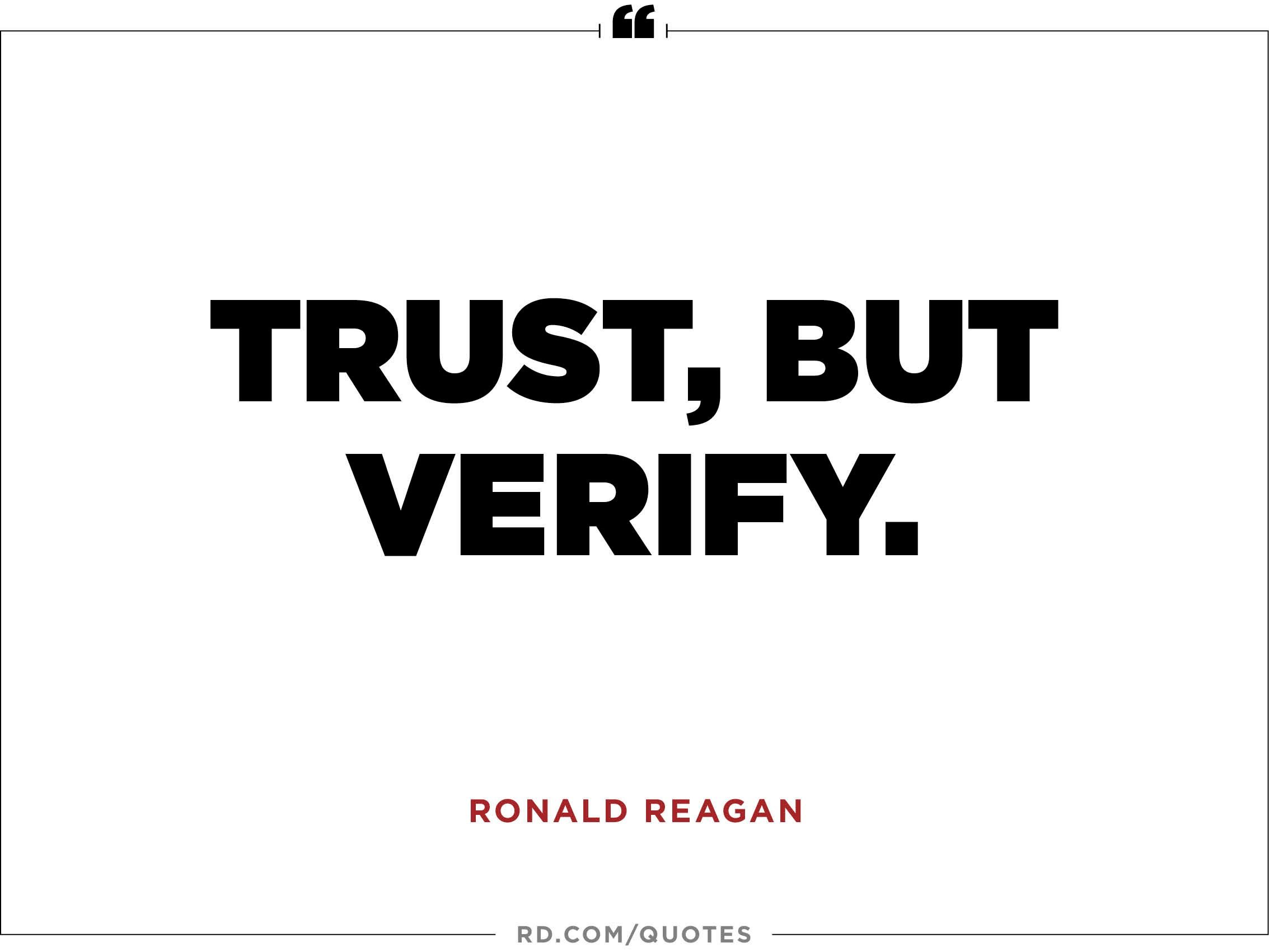 10 Quotes About Trust Reafer