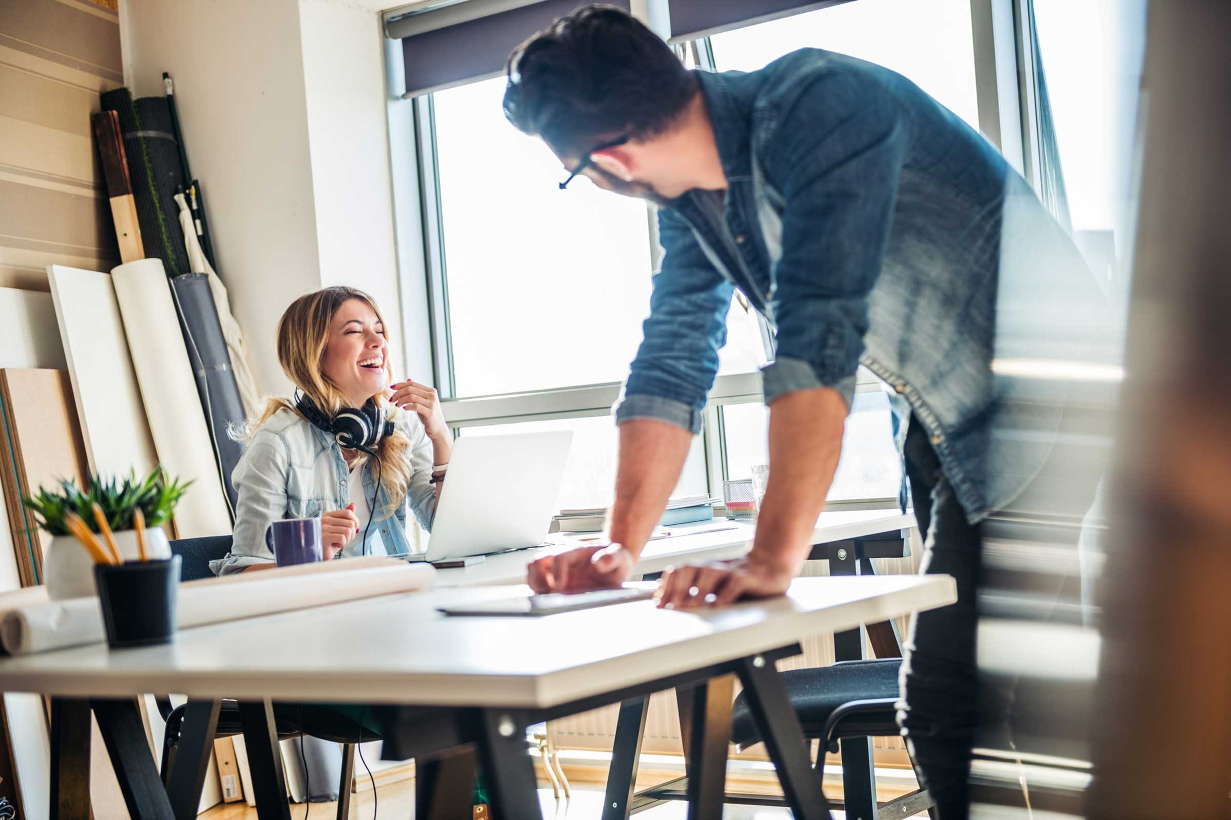 How to get a workplace spouse