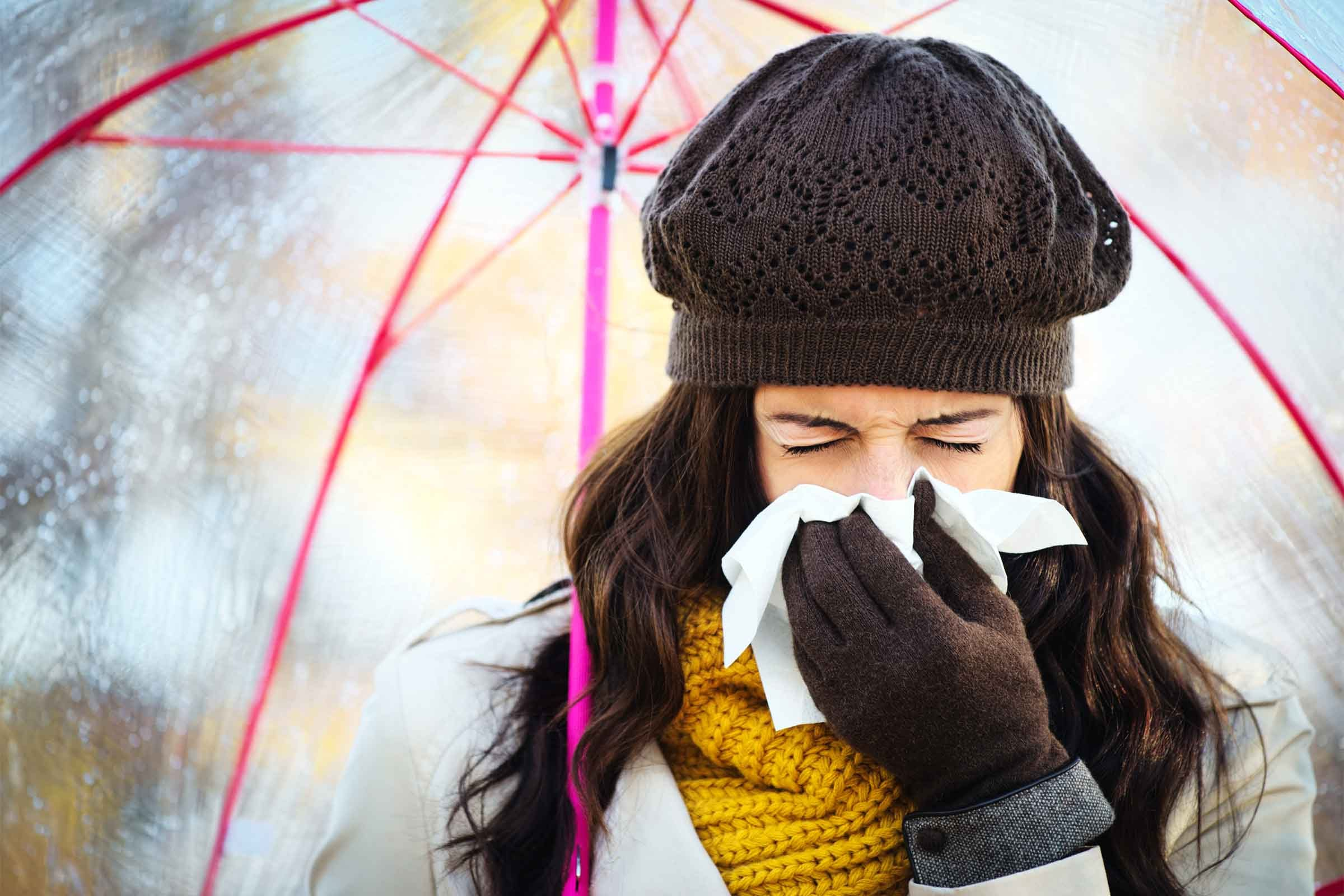 how to get sick from cold weather