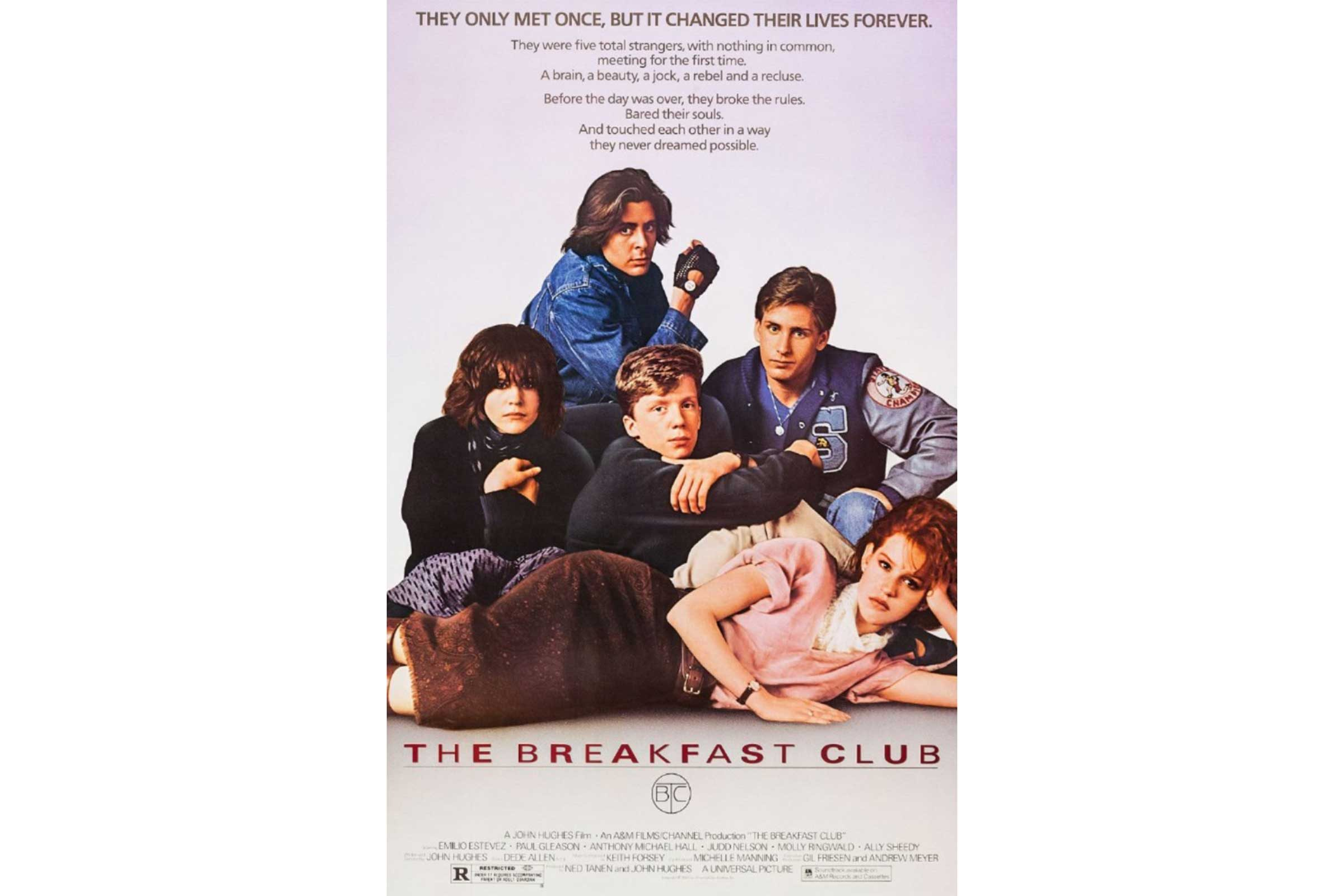 the five different personalities in the breakfast club The breakfast club written and directed by john hughes blank screen:  against  cut to: 5  alright people, we're gonna try something a little different  today  bender i mean if he had a great personality and was a good dancer  and.