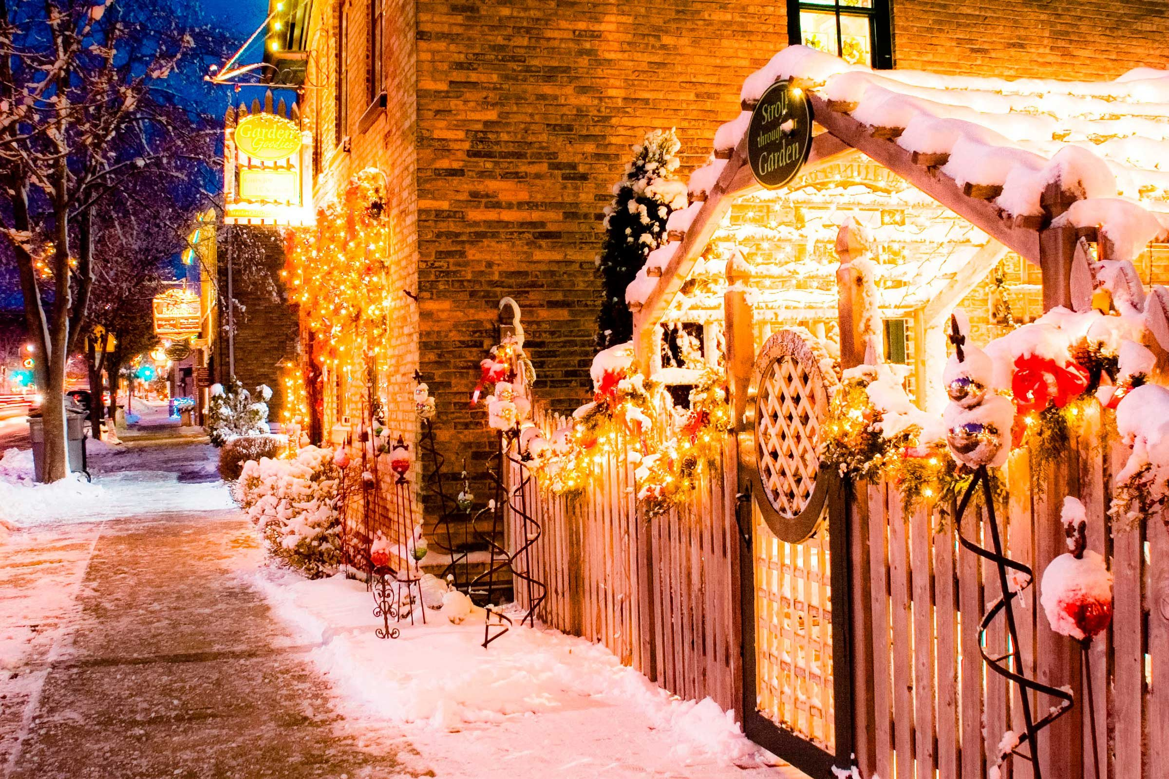 christmas towns with the most holiday spirit readers digest