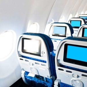 TVs in seat backs