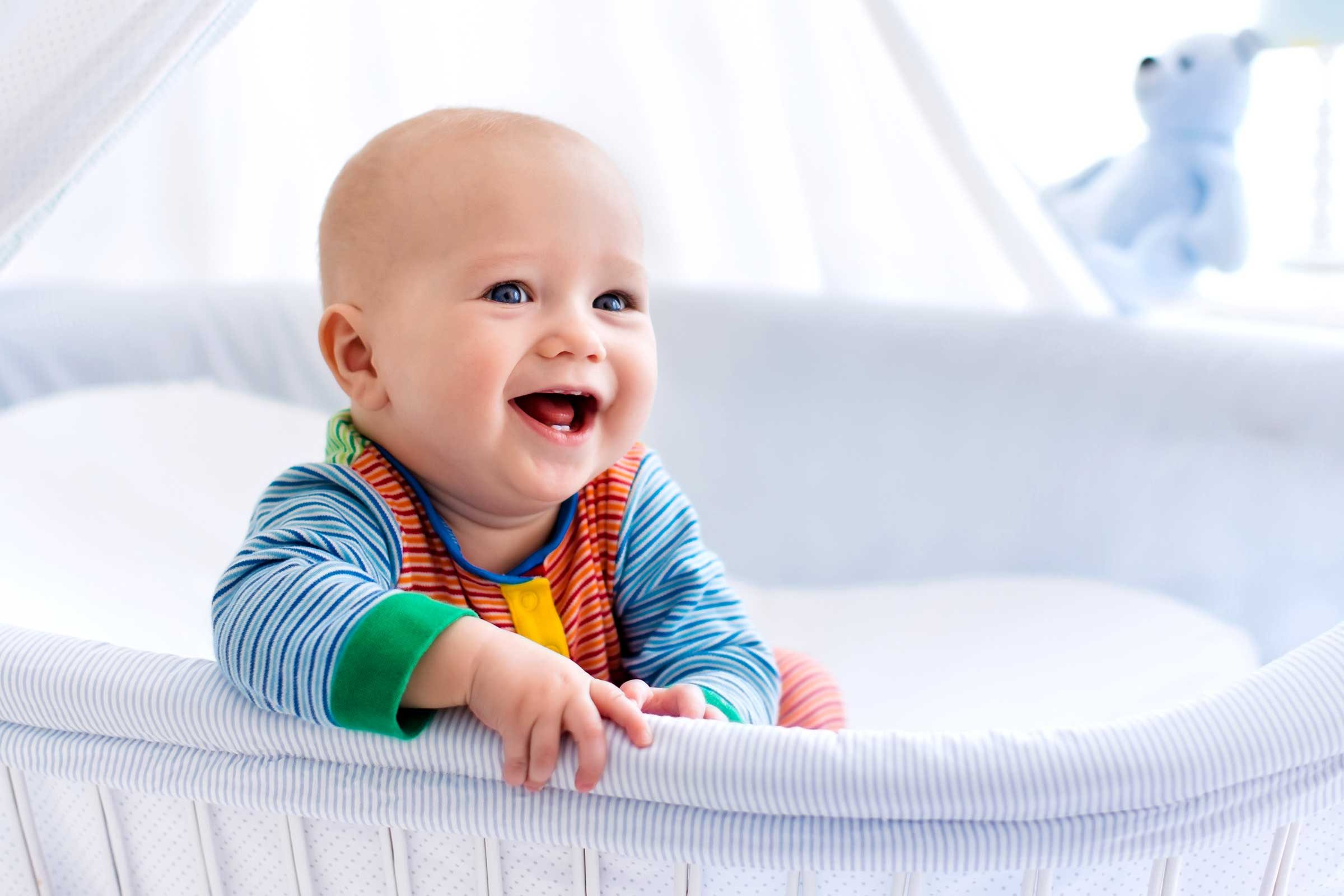 signs your baby trusts you | reader's digest