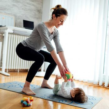 New Moms, You Need These 8 Tricks to Sneak in Postpartum Exercise