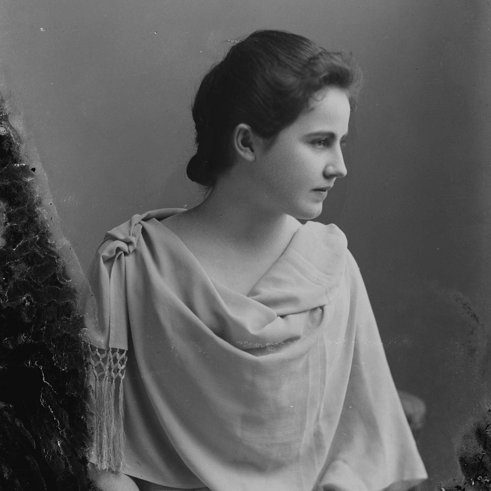 Edith Wilson, first lady