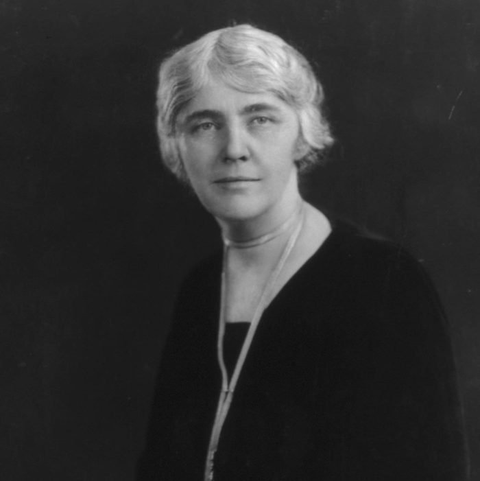 """Louise """"Lou"""" Hoover, first lady"""