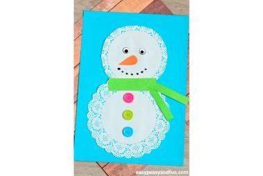 simple-doily-snowman-craft-for-kids-ilija-damjanovic