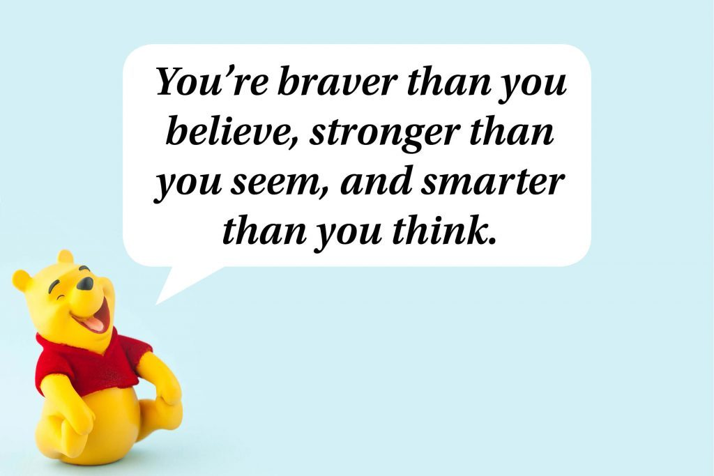 Inspiring Quotes From Winnie The Pooh Readers Digest