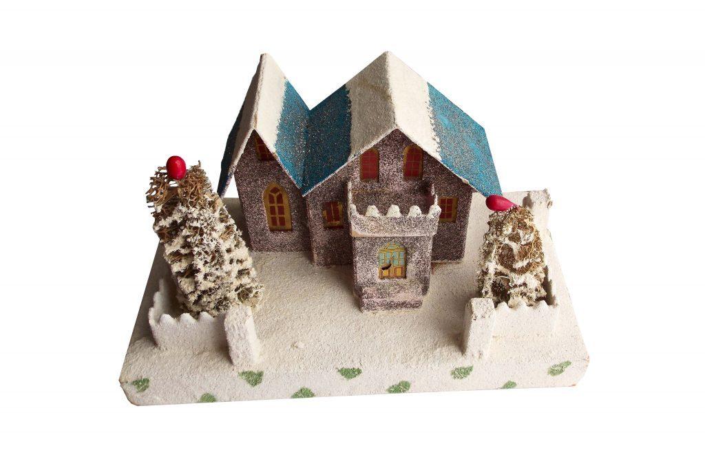 putz houses - Ceramic Christmas Houses