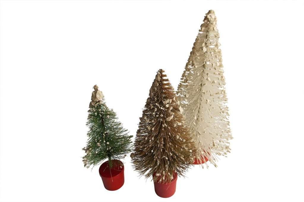 bottle brush trees vintage christmas decorations bottle_brush_trees