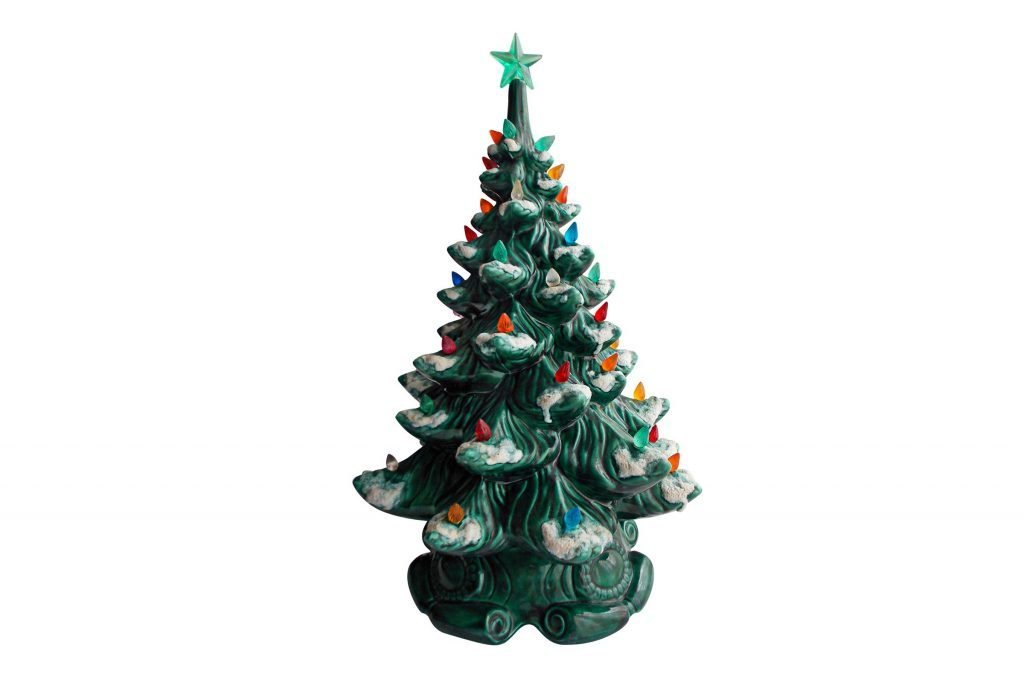 ceramic christmas trees - Ceramic Christmas Decorations