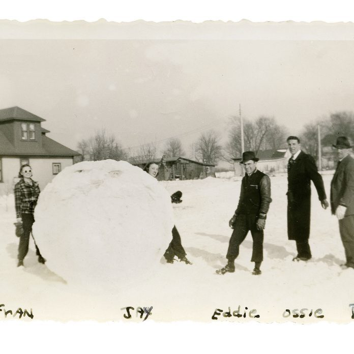 It Took 6 People to Build This Monster-Sized Snowball!