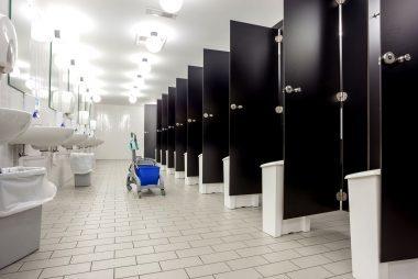 bathroom etiquette. IStockDenBoma Bathroom Etiquette