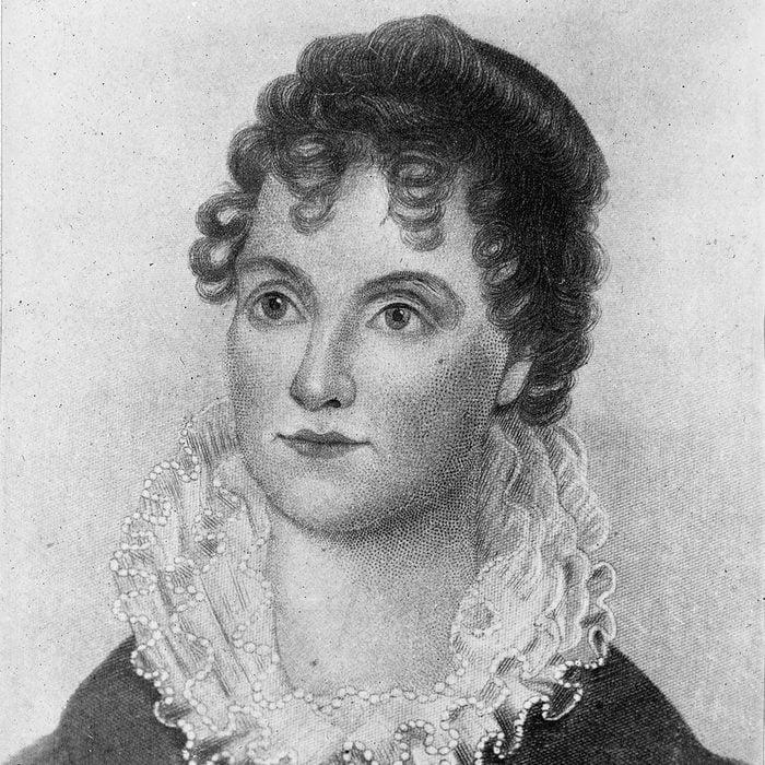 Hannah Van Buren, first lady