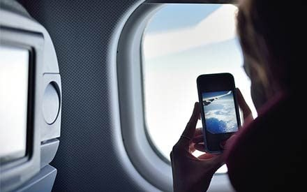 How Bad Is It to Leave Your Cell Phone on During a Flight?