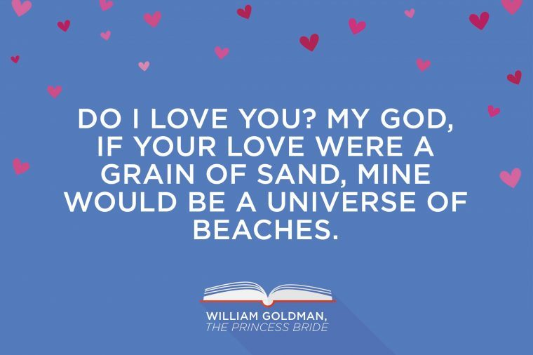 Quotes About Loving Books Amusing Most Romantic Quotes From Books  Reader's Digest