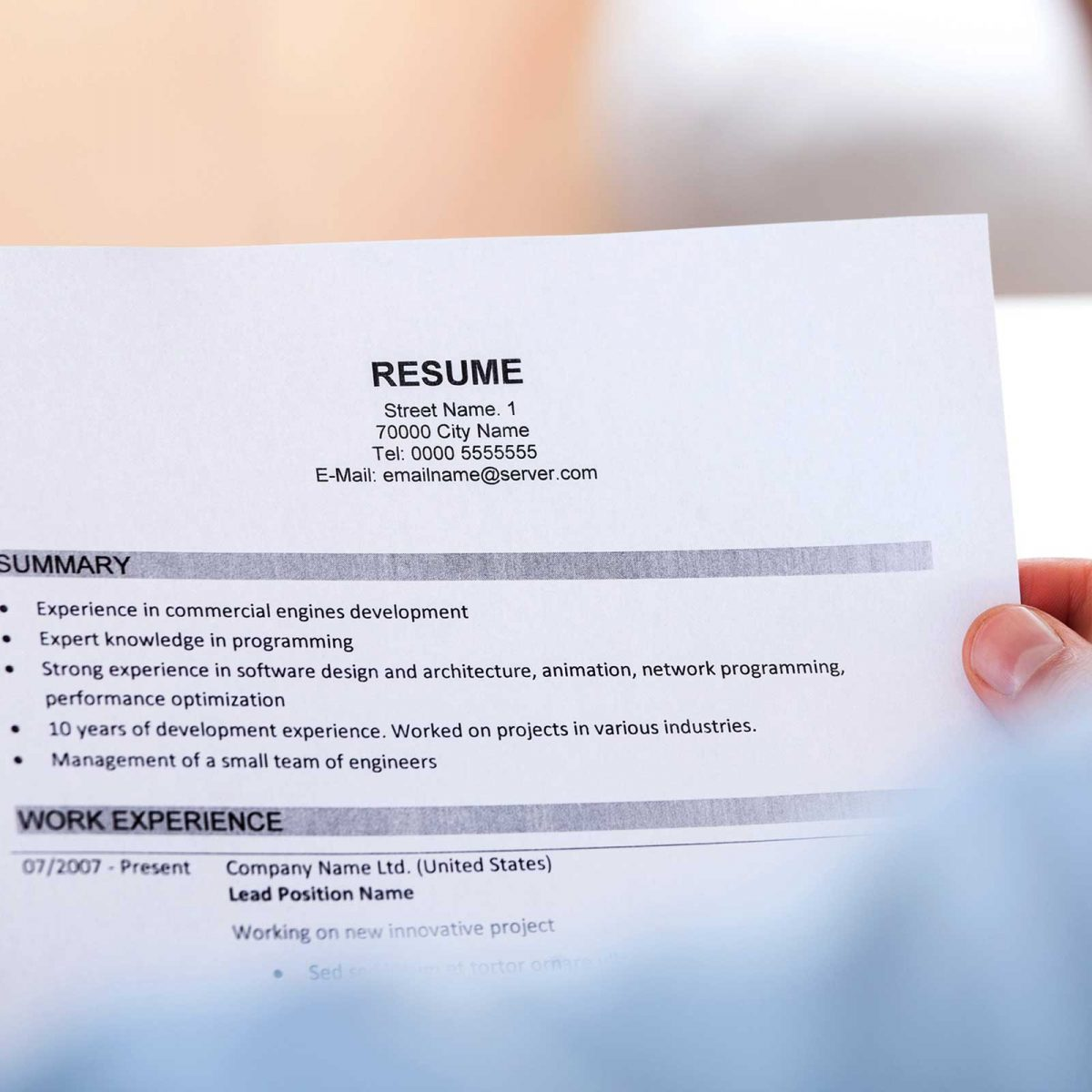 The Best Way to Explain a Resume Gap, According to Top Recruiters