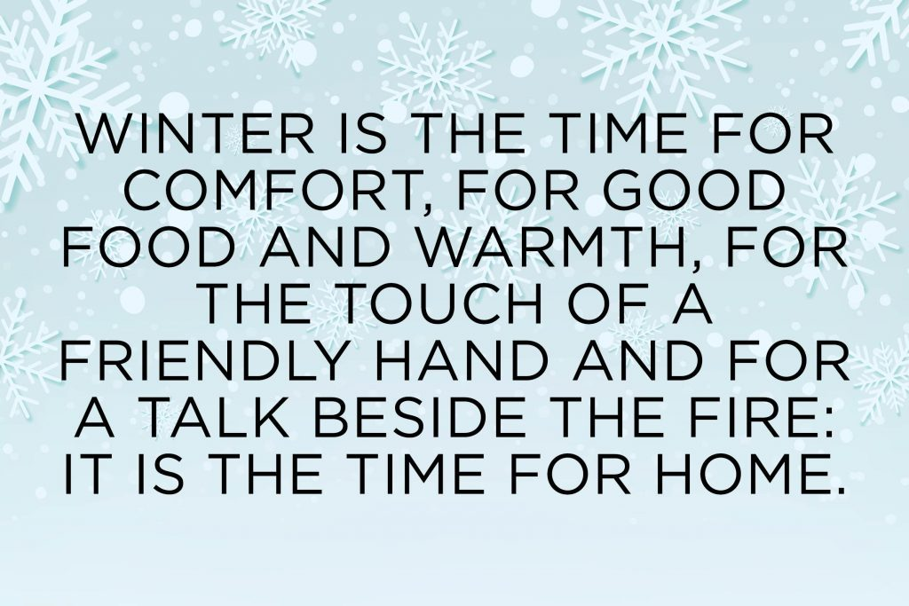 Cozy Winter Quotes To Make You Appreciate The Season Readers Digest