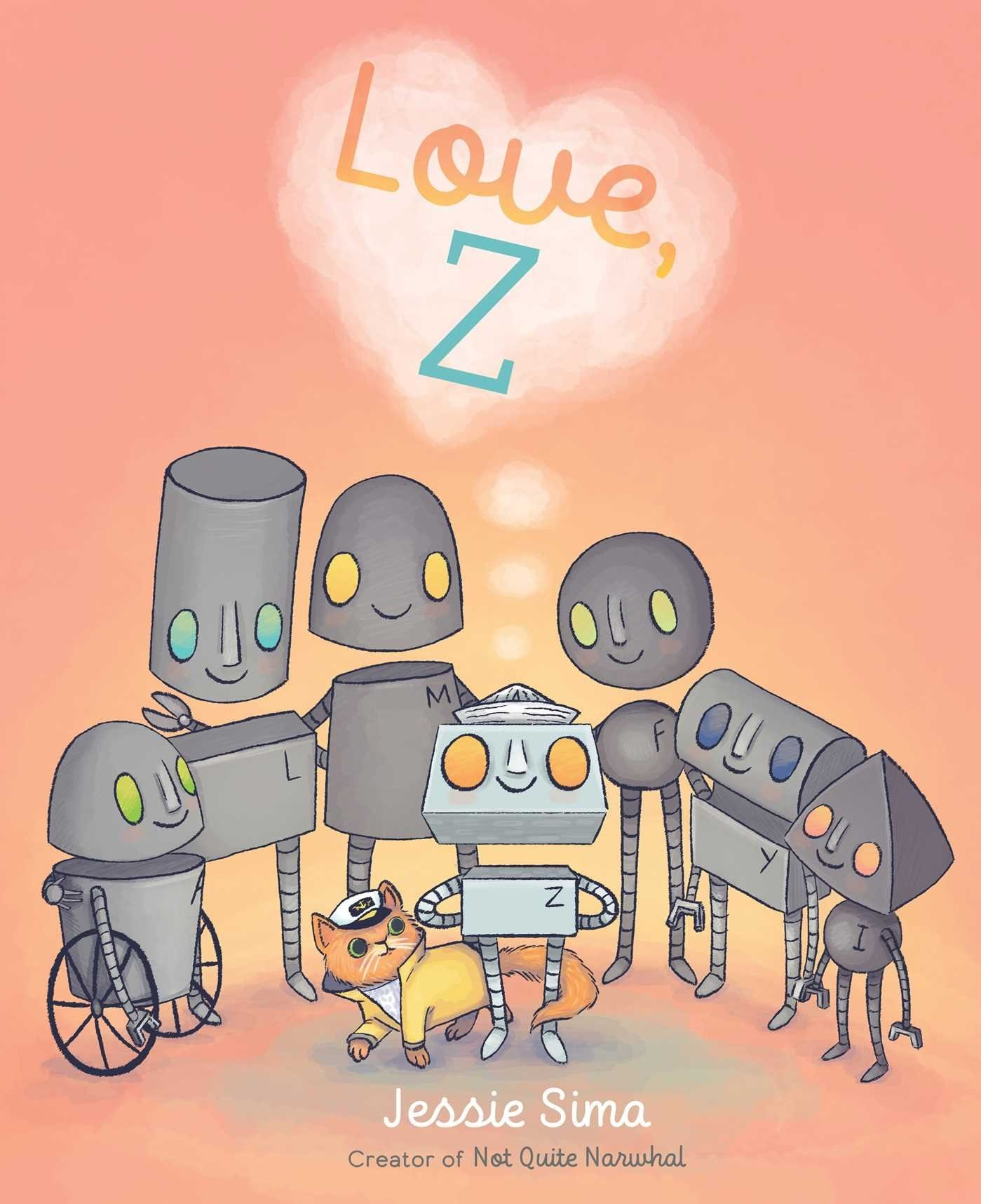 love, Z children's book
