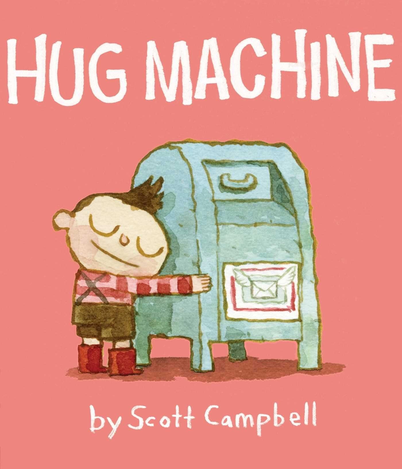 hug machine kids book