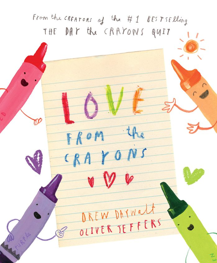 love from the crayons childrens book