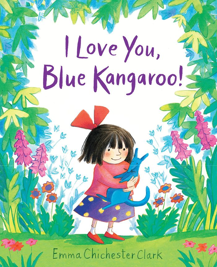 i love you blue kangaroo childrens book